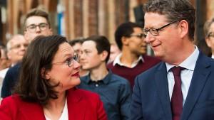 Schäfer-Gümbel warnt vor Schnellschüssen in Personaldebatte