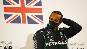 Hamilton darf beim Saisonfinale der Formel 1 starten