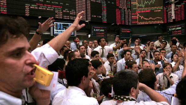 Börsengeschehen in Sao Paulo