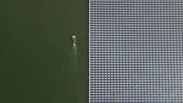 Größter schwimmender Solarpark der Welt soll in Indonesien entstehen