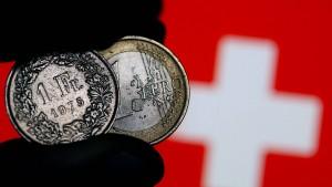 Schweizer Notenbank unter Druck