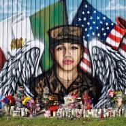 Missbraucht und ermordet: Ein Wandgemälde in Houston erinnert an die Soldatin Vanessa Guillén.