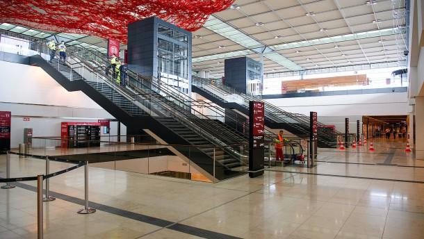 Flughafen BER steht kurz vor Inbetriebnahme