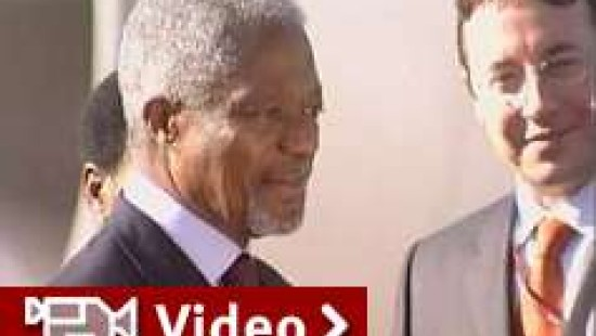 "Annan beklagt ""Mangel an politischer Führung"""