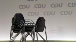 Wenden sich die Unternehmer jetzt von der CDU ab?