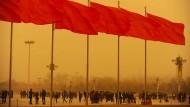 In der Weltpolitik braut sich durch China ein Sturm zusammen.