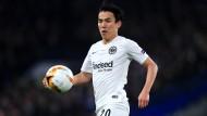 In einer langen Saison fast immer auf Ballhöhe: Eintracht-Musterprofi Makoto Hasebe