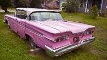 Nur noch in Museen oder auf Kuba: Der Ford Edsel, hier in Pink, wurde nur von 1957 bis 1959 produziert.