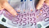 610 Millionen 500-Euro-Scheine gibt es momentan - Tendenz steigend.