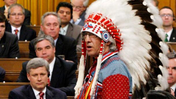 Kanada weint nach der historischen Geste