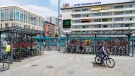 Sperrung wegen Polizeieinsatzes: die Konstablerwache in Frankfurt (Archivbild)