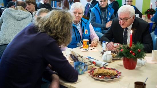 Steinmeier dankt Berliner Stadtmission