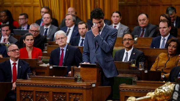 Kanadas Schuld und Trudeaus Sühne