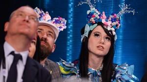 Die Ukraine gewinnt den Eurovision Song Contest
