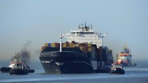 Flaminia erreicht Wilhelmshaven