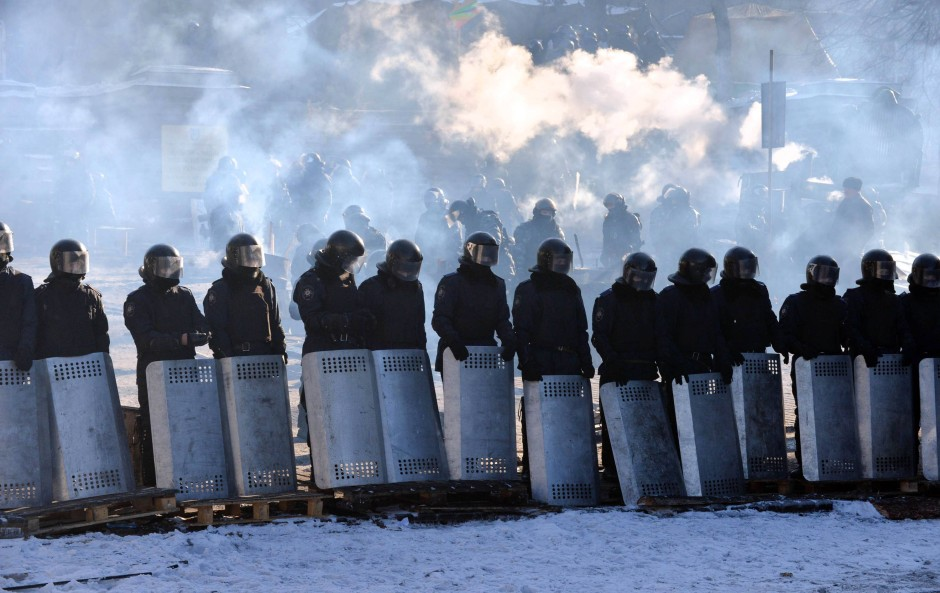 """Proteste in der Ukraine: """"Engste Beziehungen zur EU"""""""