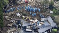 Das zweite große Beben war 16 Mal so stark wie dasjenige vom Donnerstagabend. Bislang wurden 37 Menschen getötet und 2.000 zum Teil schwer verletzt.