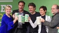 Die Grünen sind in Bayern auf dem Vormarsch.