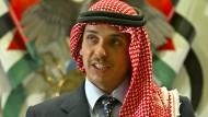 Der jordanische Prinz Hamza Bin Hussein auf einem Foto aus dem Jahr 2004