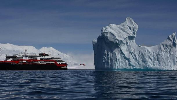 Auf Kreuzfahrt in die Antarktis