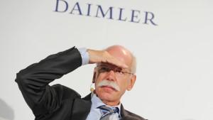 Daimler legt Zahlen vor - Gewinnwarnung erwartet