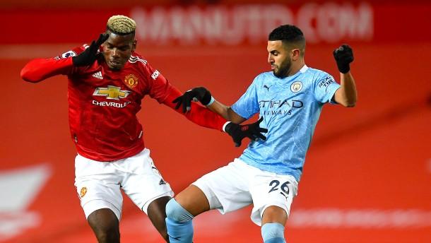 Nullnummer zwischen Manchester United und Manchester City