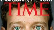 """""""Time"""" wählt Mark Zuckerberg zur Person des Jahres"""