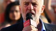 Hält er auch das, was er verspricht?  Sozialdemokrat Jeremy Corbyn