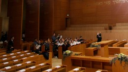 Synagoge mit Orgel