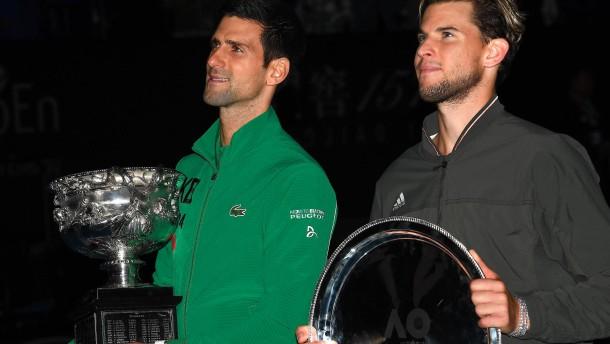 Djokovic ringt Thiem nieder