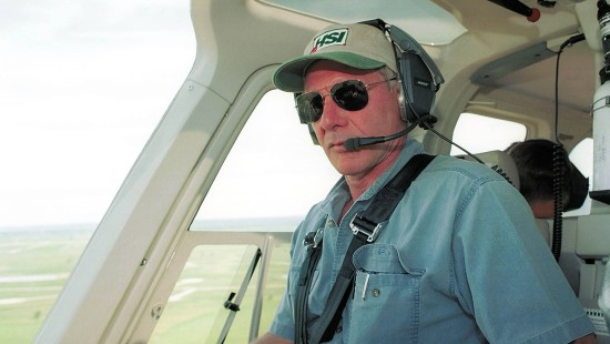 Harrison Ford fliegt fast in Passagierflugzeug