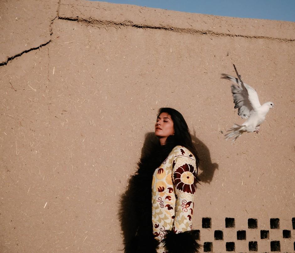 """Samina Ansari ist die Gründerin des ersten Public-Diplomatie-Unternehmens """"Avyanna-Diplomatie""""  Afghanistans."""