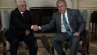 """Bush will echtes Palästina - keinen """"Schweizer Käse"""""""