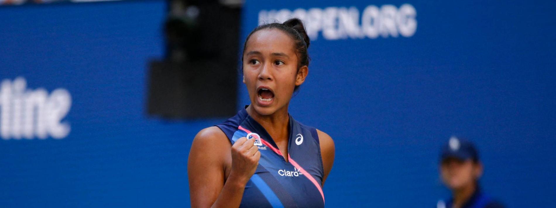 Der Siegeszug von Leylah Fernandez geht weiter