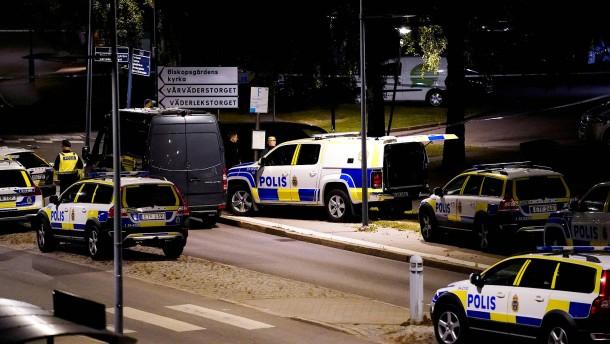 Polizist in Schweden erschossen