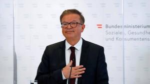 Österreichs Gesundheitsminister tritt zurück