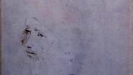 Diese flüchtige Darstellung eines melancholischen Greises könnte ein Porträt des Meisters Leonardo Da Vinci sein.