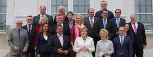 Das Bundeskabinett der Großen Koalition.