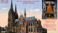 Auch der Kölner Dom blieb nicht verschont. Seine Kaiserglocke, eine der schwersten der Welt, wurde im Juni 1916 zur Metallverwertung eingeschmolzen.