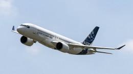 Lufthansa-Tochter Swiss lässt Airbus A220 am Boden