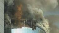 Ein Toter bei Feuer im Einkaufszentrum