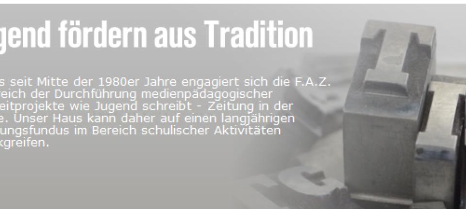 Die Zeitungsprojekte Der Frankfurter Allgemeinen Zeitung