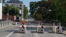 Streit um eine Straße in Frankfurt