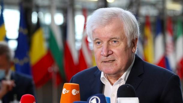 Seehofer will illegale Migration aus Belarus verhindern