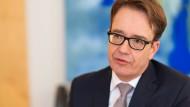"""""""Die Stimmung ist so schlecht wie zuletzt 2008"""", sagt Armin von Falkenhayn, Chef der Bank of America für Deutschland, Österreich und die Schweiz."""