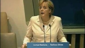 Merkel fordert entschlossenes Handeln