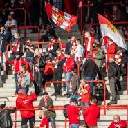 Vom Gesundheitsamt genehmigt: Union-Fans im Corona-Hotspot Berlin