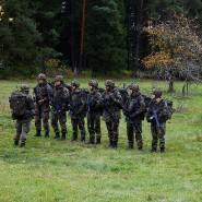 """Bundeswehrsoldaten während der Übung BWTEX (""""Baden-Württembergische Terrorismusabwehr Exercise"""") bei Stetten am kalten Markt."""