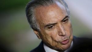 Ermittlungen gegen Brasiliens Präsidenten