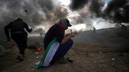 Israel beschießt Gazastreifen